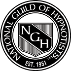 Logo NGH, National Guild of Hypnotists, est. 1951